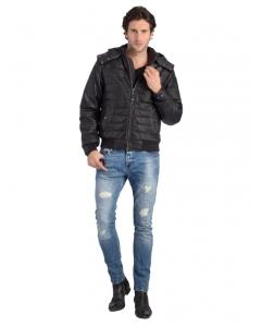 doudoune-en-cuir-agneau-noir-lc5501 63d4ae1406d